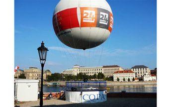 Sleva 40% 480Kč = cena za ideální dárek pro zamilované k Valentýnu. Let upoutaným balónem nad nejkrásnějším městem Evropy! 15 minut, nad starou Prahou v hodnotě 800 Kč, na které nezapomenete!