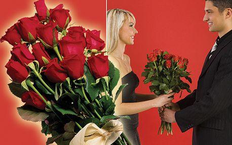 Růže z lásky nebo z přátelství, kupte si kupon za 5 Kč a získejte slevu 53% na každou květinku