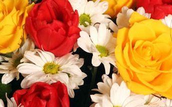 Udělejte radost svému miláčkovi nádhernou kyticí plnou lásky. Nabízíme Vám skvělý Valentýnský dárek za super cenu!