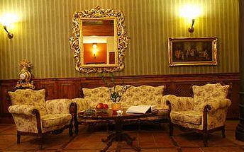 POBYT s ČOKOLÁDOVÝM hýčkáním pro 2 v hotelu Morris**** Česká Lípa