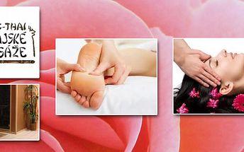 Valentýnský rozmazlovací balíček pro ženy. Dopřejte svému tělu relax v masážním salonu DENG THAI v Ostravě a nechte se při tom rozmazlovat!