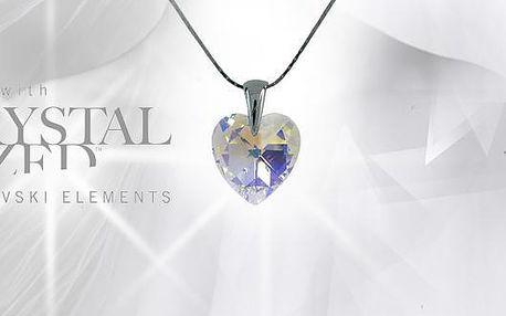 Blýskněte se s luxusním stříbrným náhrdelníkem Swarovski elements s unikátním efektem lámání světla. Luxusní cena za luxusní šperk včetně dárkového balení. V ceně poukazu navíc i 20% sleva na veškerý sortiment Swarovski elements od Gift ideas.