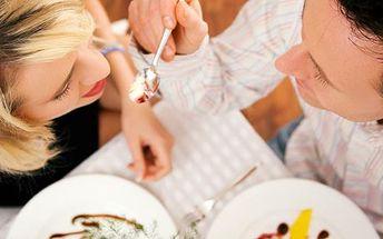 Valentýnský speciál - romantická večeře pro dva v restauraci U Dvou slunečnic. Oslavte svátek zamilovaných v příjemném prostředí, dobrým jídlem a zábavou.