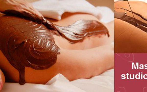 425 Kč za čokoládovou masáž celého těla. Luxusní procedura s peelingem a zábalem v masážním studiu JITKA se slevou 50%.