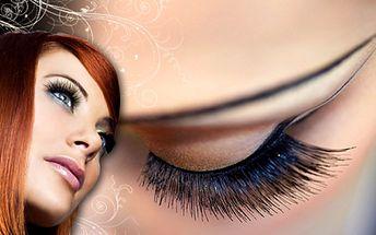 Obnovte svůj okouzlující pohled očí! Opět žádné řasenky a rozmazané oči! Doplnění řas B-LASHES metodou řasa na řasu se slevou 56% za 449 Kč!