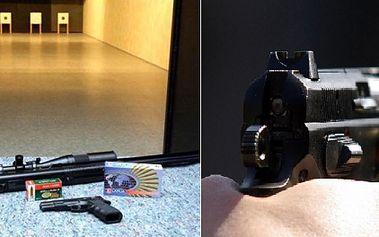 Staňte se na jeden den akčním hrdinou! Vyzkoušejte si střílet z pěti různých zbraní v moderní střelnici parabellum. Asistovat vám bude profesionální instruktor. Získáte také komplet servis včetně ochrany sluchu a zraku a nealko nápoj.
