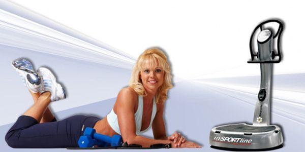 Zformujte postavu, zlepšete krevní oběh a posilte své svalstvo! Cvičení na vibrační plošině vč. prohřívacího zábalu za bomba cenu 45 Kč!