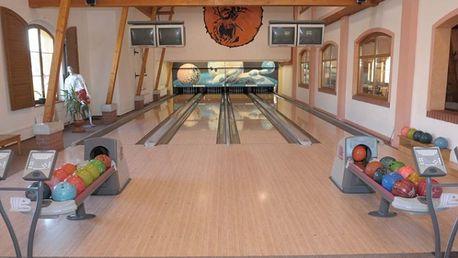 Sedmihorky: Profesionální bowling. Hrajte 2 hodiny za neskutečných 249,-Kč