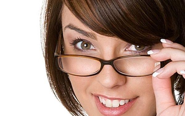 50% sleva na jedinečné brýlové čočky Crizal, které bojují proti odleskům, prachu, škrábancům, nečistotám či kapkám vody!