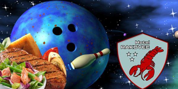 Nevíte co s načatým večerem? Přijďte si zahrát bowling a skvěle se navečeřet! Hodina bowlingu v nejžádanějším čase + večeře pro dva za super cenu, pouhých 299 Kč!