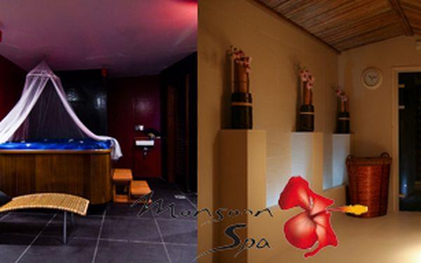 Neměli jste o Valentýnu čas na romantiku? Nevadí! Prožijte spolu 60 min v privátním apartmánu Marocco nebo China s vířivkou, saunou nebo párou a následnou 45- min. terapií (Foot massage, Paada Abyanga, nebo švédská klasická masáž