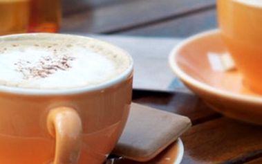 Přijďte na vynikající Cafe latte machiato, ke kterému dostanete dezert zdarma!!! Vyberte si: palačinky nebo štrúdl?