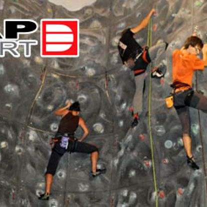 3-hodinový lezecký kurz pro DVĚ osoby jen za800 Kč.