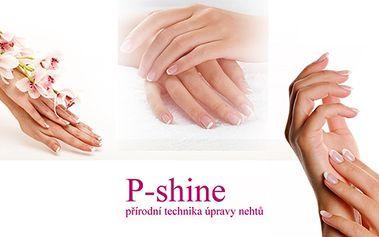 Krásné nehty by měly být samozřejmostí nejen pro ženy, ale i muže a proto vám nabízíme japonskou manikúru P- shine. V ceně je i masáž rukou.