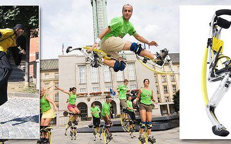 Vyznavači adrenalinových sportů pozor! Pro Vás, kteří chcete vyzkoušet SKÁKACÍ BOTY, nabízíme instruktáž v Praze!