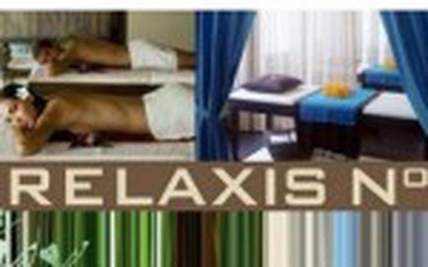 Výběr z 11-ti masáží (6O minut) za super cenu 339 Kč. Navštivte studio RELAXIS no.1 a užijte si naplno masáží třetí generace. Možnost DUO masáže