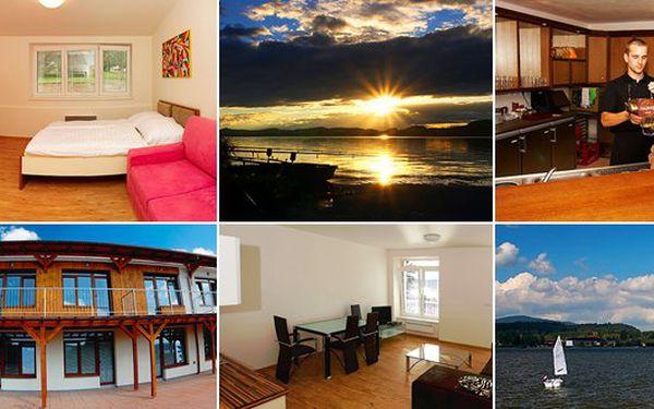 Ubytování na 3 dny (2 noci) v luxusních apartmánech Rezidence Club Canada u Lipenského jezera. Užijte si zimní radovánky nebo jarní romantiku se slevou 40%. Jen za 660 Kč.