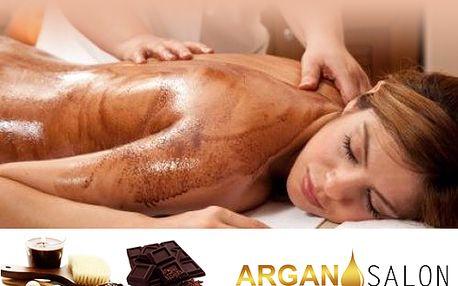 Užijte si 80 minut orientální čokoládové masáže za pouhých 490 kč z původních 1.000 v Argan salonu!