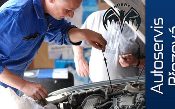 Starejte se o svůj vůz. Pravidelná jarní kontrola vozu a klimatizace, s doplněním provozních kapalin jen za 850 Kč. Užívejte si bezstarostnou jízdu s 50% slevou!