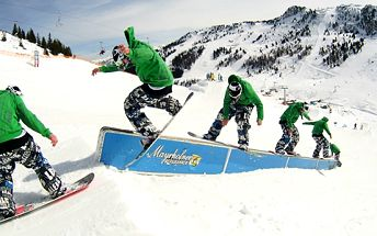Freestyle lekce na snowboardu pro 2 osoby ve Špindlerově Mlýně za poloviční cenu! Povedou vás zkušení profesionálové a přední čeští jezdci.
