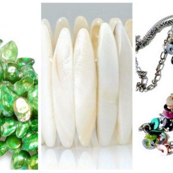 Udělejte si radost a kupte si originální šperk s 54 % slevou! Získejte nádherný perleťový náhrdelník nebo náramek! Vhodné také jako dárek pro vaši přítelkyni či manželku!