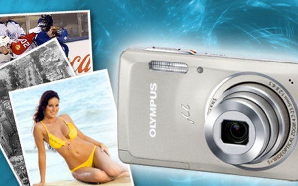 POZOR!!! Soutěžte s HyperSlevami o nový fotoaparát Olympus Mju-5010 Silver! Soutěže se může zúčastnit ZDARMA každý uživatel! Zúčastněte se soutěže na HYPERSLEVY.CZ a nepromeškejte šanci mít nový krásný foťák!