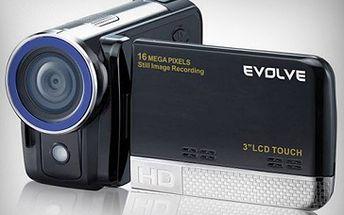 POZOR: Soutěž pro Ostraváky!!! Získejte zcela ZDARMA skvělou digitální videokameru Evolve 1500 Touch. Zúčastnit se může každý uživatel BavseLevně a to zcela zdarma.