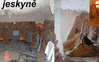 Solná jeskyně na 45 minut pro dospělého a dítě do 15 let za 80 Kč!