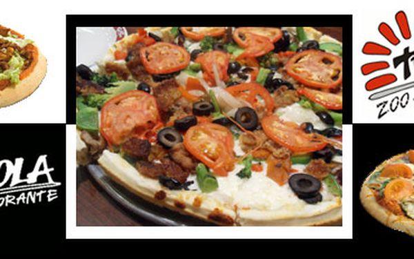2x pizza a 2x 2dcl červeného nebo bílého vína jen za 166 Kč!! Navštivte restauraci TRAPPOLA v Teplicích nebo Ústí nad Labem a vyberte si pizzu a víno s 51% slevou!!