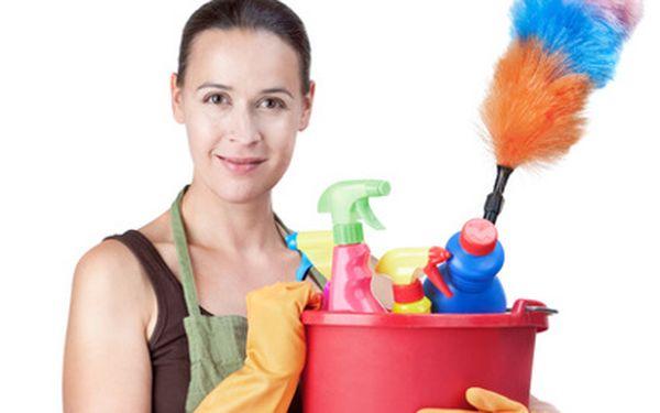 Úklid vašeho domu či bytu jen za 349 Kč místo původních 1000 Kč! Vyluxování, vytření, utření prachu a generální úklid kuchyňské linky a koupelny!