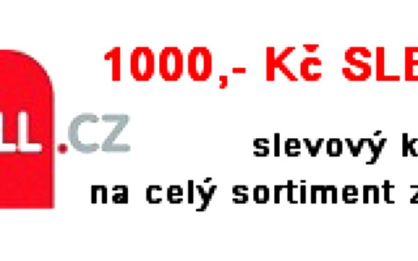 MEGASLEVA 1000 Kč v nějvětší internetové galerii Mall.cz! Kupon v hodnotě 1000 Kč si můžete zdarma vyzvednout ZDE!