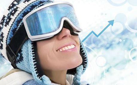 Speciální zimní zpravodajství: Zima se vrací - ceny Krkonošských vleků již zmrzly na minimum! Odvažte se na prkně či lyžích s partou přátel nebo celou rodinou - permanentky ve SKI areálu Luisino údolí s 55procentní slevou! Poukaz na jakékoli permanentky v
