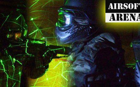 175 Kč za vstup do airsoft arény v bývalém protiatomovém krytu, zbraň a 500 nábojů. Vyzkoušejte Counter Strike na vlastní kůži a ušetřete 50 %.