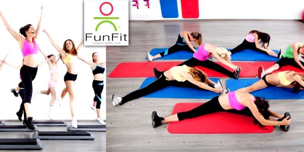 99 Kč za tři lekce ve fitcentru FunFit. Zdravé tělo a veselá mysl se slevou 50%