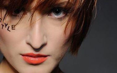 Obarvení vlasů profesionálními barvami a nový střih Vašim krátkým vlasům s 50% slevou!!!