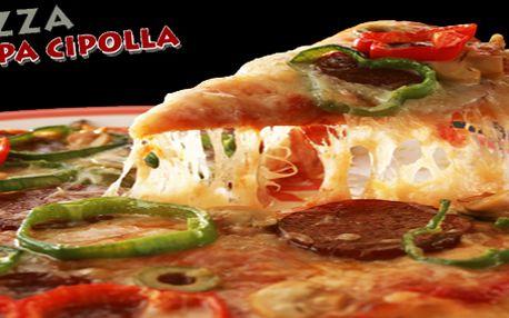 Chcete zažít pravou Itálii u Vás doma? Výborná pizza za skvělou cenu a dovoz zdarma!