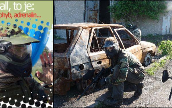 Nejlepší paintballové hřiště v Praze Vás zve za skvělých 159Kč na 4 hodiny adrenalinu a nezapomenutelných nevšedních zážitků. Paintball s kompletním vybavením pro každého hráče. Navštivte unikátní paintballový areál v reálném prostředí bývalé vojenské zák
