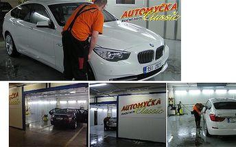 Ruční mytí vozu včetně vyleštění světlometů a čištění koberečků! Myslete na své auto a dopřejte mu nadstandardní péči!