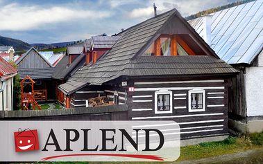 Pobyt na 3 noci v apartmáne až pre 4 osoby v rozprávkovej chate Drevenička ** v Liptovskej Tepličke v Nízkych Tatrách. Užite si jarnú lyžovačku alebo turistiku a oddýchnite si od zhonu v krásnej prírode so zľavou 40%!