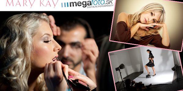 Originálny darček k MDŽ - set šiestich štúdiových fotografií s profesionálym stylingom Mary Kay - za výnimočnú akciovú cenu 39€ (pre prvých sto klientov)