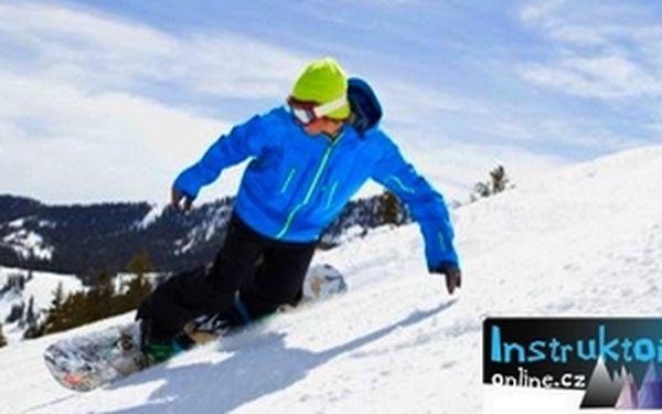 Snowboardová škola pro 2 s předními českými jezdci ve špindlerově mlýně. Naučíme tě od základů až po freestyle!