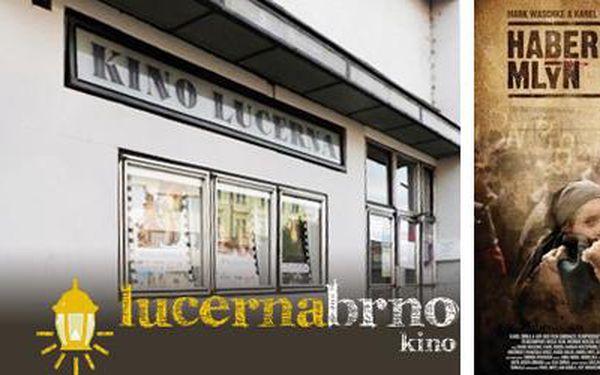 Přijď v březnu do brněnského kina Lucerna za polovinu! Jenom 100 Kč za vstupenku pro dvě osoby. A to už se přece vyplatí!