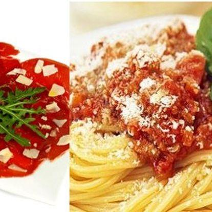 Jen 330 Kč za originální carpaccio, těstoviny a tiramisu pro DVA v italské restauraci! Vše kompletně připravené z domácích surovin!