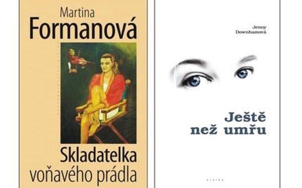 Jen 220 Kč za dva ženské romány – slzy a smích v podání české i světové autorky za nejlepší cenu v ČR!