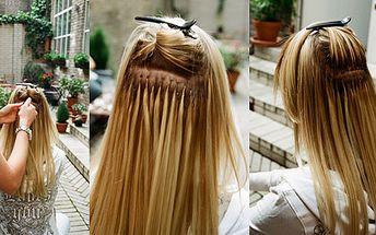 Prodlužování vlasů v prestižním Studiu Oskar se slevou 50%. Zakupte si poukázku na slevu 50% a tu pak uplatněte na vaší celkovou útratu za prodloužení vlasů. Svěřte se do rukou profesionálů.
