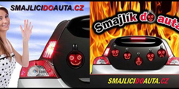 """Smajlíci do auta – """"car message"""" v nádherném balení za bezkonkurenční cenu 645 Kč. Vyznej své pocity za volantem...."""