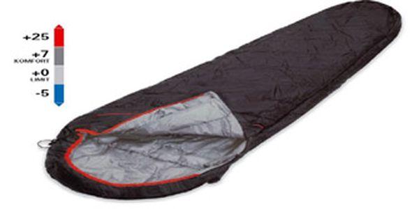 Parádní lehký spacák LOAP IRON za vyhřátých 450 Kč.
