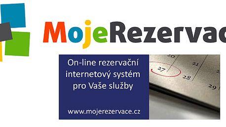 Sleva na roční poplatek internetového on-line rezervačního systému MojeRezervace