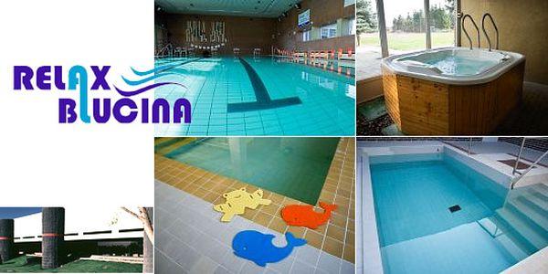 Milujete plavání? - Užijte si den a navštivte náš bazén, saunu a vířivku. To vše v příjemném centru Relax Blučina pro 2 osoby s 50% slevou za skvělých 98 Kč.