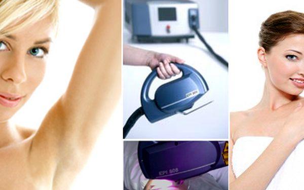 Chcete být připravení na léto? Ideální čas. Nabízíme Vám 4 vysokovýkonné epilační lasery na jednom pracovišti, které Vám umožní mít dokonalé podpaží se SKVĚLOU slevou 50%!! Bezkonkurenčně nejrychlejší laserový systém. Díky novému skenovacímu systému je o